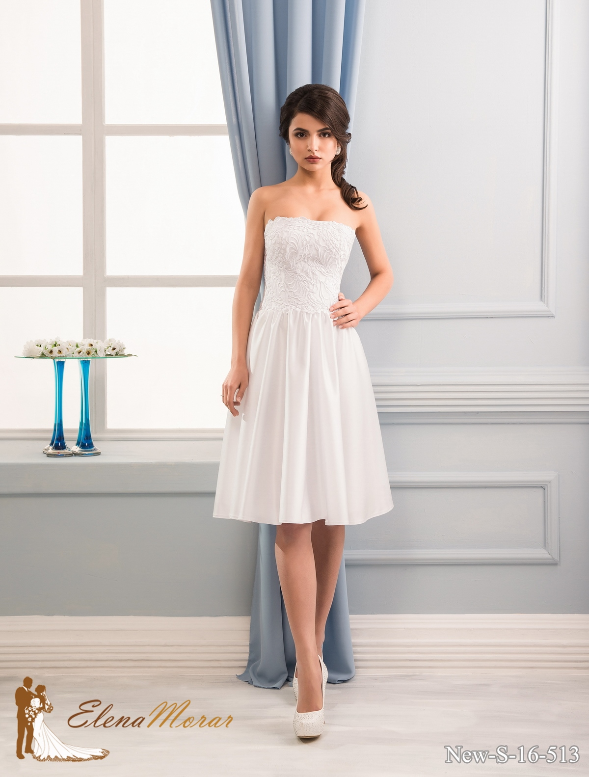 Producing of new wedding collection by Elena Morar